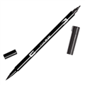 TOMBOW DUAL BRUSH PEN  BLACK N15  N25 EACH1 PACK6