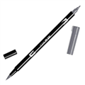 TOMBOW DUAL BRUSH PEN  COOL GRAY 7 N55 EACH1 PACK6