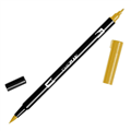 TOMBOW DUAL BRUSH PEN  YELLOW GOLD 026 EACH1 PACK6