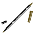 TOMBOW DUAL BRUSH PEN  DARK OCHRE 027 EACH1 PACK6