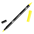 TOMBOW DUAL BRUSH PEN  PROCESS YELLOW 055 EACH1 PACK6