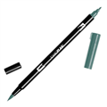TOMBOW DUAL BRUSH PEN  GRAY GREEN 228 EACH1 PACK6
