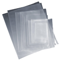 PLASTIC POLY BAG CLEAR LDPE 18X12 455MM X 305MM 100 MICRON 500PK