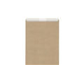 GREASEPROOF LINED PAPER BAG HOT CHIPS 150MM X 140MM BROWN 500PK