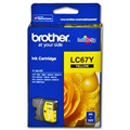 BROTHER LC67Y INKJET CARTRIDGE YELLOW LC67