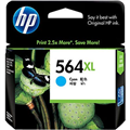 HP CB323WA NO 564XL INK CARTRIDGE 564XL CYAN
