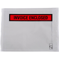 ENVELOPE PACKAGING PLASTIC ADHESIVE  INVOICE ENCLOSED  155MM X 115MM BOX 1000