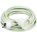 EXTENSION LEAD CORD 10AMP 240V 10M 10 METRE WHITE