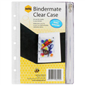 BINDERMATE PENCIL CASE A5 ASSORTED COLOURS EACH1 PACK12